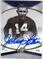 JOHNNY LATTNER NOTRE DAME AUTOGRAPHED FOOTBALL CARD #100413K