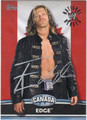 EDGE AUTOGRAPHED WRESTLING CARD #100512C