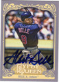 ALBERT BELLE AUTOGRAPHED BASEBALL CARD #100512Q