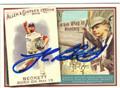 JOSH BECKETT BOSTON RED SOX AUTOGRAPHED BASEBALL CARD #100813D