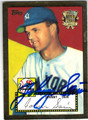 JOHNNY SAIN NEW YORK YANKEES AUTOGRAPHED BASEBALL CARD #100813J
