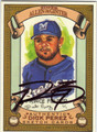 PRINCE FIELDER AUTOGRAPHED BASEBALL CARD #101011R