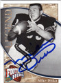 MIKE DITKA CHICAGO BEARS AUTOGRAPHED FOOTBALL CARD #101013E