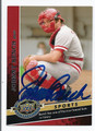 JOHNNY BENCH AUTOGRAPHED BASEBALL CARD #101110K