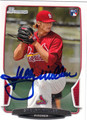 SHELBY MILLER ST LOUIS CARDINALS AUTOGRAPHED ROOKIE BASEBALL CARD #101113A