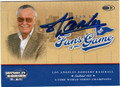 STAN LEE AUTOGRAPHED CARD #10114D