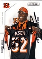 DONTAY MOCH CINCINNATI BENGALS AUTOGRAPHED ROOKIE FOOTBALL CARD #101213D