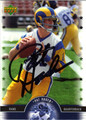 PAT HADEN AUTOGRAPHED FOOTBALL CARD #101411E
