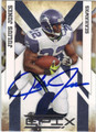 JULIUS JONES AUTOGRAPHED FOOTBALL CARD #101511D