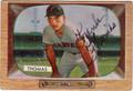 FRANK THOMAS AUTOGRAPHED VINTAGE BASEBALL CARD #101711B
