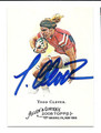 TODD CLEAVER AUTOGRAPHED RUGBY CARD #101810H