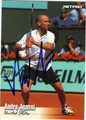 ANDRE AGASSI AUTOGRAPHED TENNIS CARD #102011N