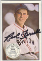 RICK FERRELL BOSTON RED SOX AUTOGRAPHED VINTAGE BASEBALL CARD #102013B