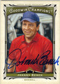 JOHNNY BENCH CINCINNATI REDS AUTOGRAPHED BASEBALL CARD #102013J