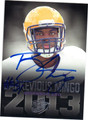 BARKEVIOUS MINGO CLEVELAND BROWNS AUTOGRAPHED ROOKIE FOOTBALL CARD #101913M