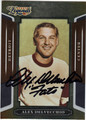 ALEX DELVECCHIO DETROIT RED WINGS AUTOGRAPHED HOCKEY CARD #10214N