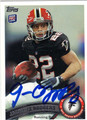 JACQUIZZ RODGERS ATLANTA FALCONS AUTOGRAPHED ROOKIE FOOTBALL CARD #102213E