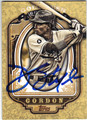 DEE GORDON LOS ANGELES DODGERS AUTOGRAPHED BASEBALL CARD #102313H