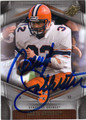 DARYL JOHNSTON SYRACUSE UNIVERSITY AUTOGRAPHED FOOTBALL CARD #102413E