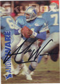 ANDRE WARE AUTOGRAPHED FOOTBALL CARD #102812B