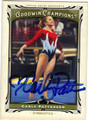 CARLEY PATTERSON AUTOGRAPHED OLYMPIC GYMNASTICS CARD #102813F