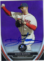 DEVEN MARRERO BOSTON RED SOX AUTOGRAPHED ROOKIE BASEBALL CARD #102813H