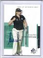 Annika Sorenstam Autographed Golf Card 103010H
