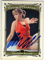 SHANNON MILLER USA OLYMPIC GYMNASTICS AUTOGRAPHED CARD #102713K