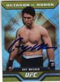 GUY MEZGER UFC AUTOGRAPHED CARD #102713N