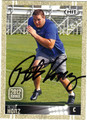 PETER KONZ AUTOGRAPHED ROOKIE FOOTBALL CARD #102912F