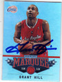 GRANT HILL LOS ANGELES CLIPPERS AUTOGRAPHED BASKETBALL CARD #10314K