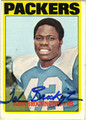 JOHN BROCKINGTON AUTOGRAPHED VINTAGE FOOTBALL CARD #103112J