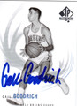 GAIL GOODRICH AUTOGRAPHED BASKETBALL CARD #10412G