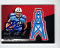 KENNY BRITT AUTOGRAPHED PIECE OF THE GAME ROOKIE FOOTBALL CARD #10512i