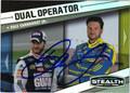 DALE EARNHARDT JR AUTOGRAPHED NASCAR CARD #10512J
