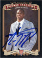 ADRIAN PETERSON OKLAMHOMA SOONERS AUTOGRAPHED FOOTBALL CARD #10513Q
