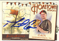MATT CAIN SAN FRANCISCO GIANTS AUTOGRAPHED BASEBALL CARD #10514i