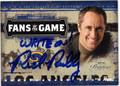 RICK REILLY ESPN AUTOGRAPHED CARD #10513E