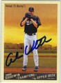 CHRIS VOLSTAD FLORIDA MARLINS AUTOGRAPHED BASEBALL CARD #10513G