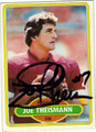 JOE THEISMANN AUTOGRAPHED FOOTBALL CARD #10611H