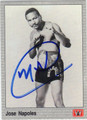 JOSE NAPOLES AUTOGRAPHED BOXING CARD #10614B