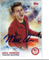 MAX AARON OLYMPIC FIGURE SKATING AUTOGRAPHED OLYMPICS CARD #10614H