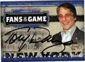 TONY DANZA AUTOGRAPHED CARD #10614i
