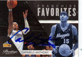 CARMELO ANTHONY DENVER NUGGETS AUTOGRAPHED BASKETBALL CARD #10713G