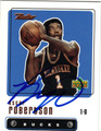 OSCAR ROBERTSON MILWAUKEE BUCKS AUTOGRAPHED BASKETBALL CARD #10714K