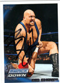 BIG SHOW AUTOGRAPHED WRESTLING CARD #10813J
