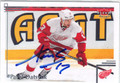 PAVEL DATSYUK DETROIT RED WINGS AUTOGRAPHED HOCKEY CARD #10814L