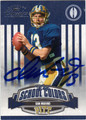 DAN MARINO AUTOGRAPHED & NUMBERED FOOTBALL CARD #110112B