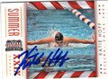 KATIE HOFF AUTOGRAPHED OLYMPIC SWIMMING CARD #110113D