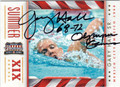 GARY HALL SR AUTOGRAPHED OLYMPIC SWIMMING CARD #110513A